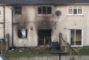 В Заводском районе Пензы вновь произошел пожар в расселенном доме