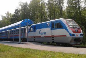 В Пензе реконструируют детскую железную дорогу